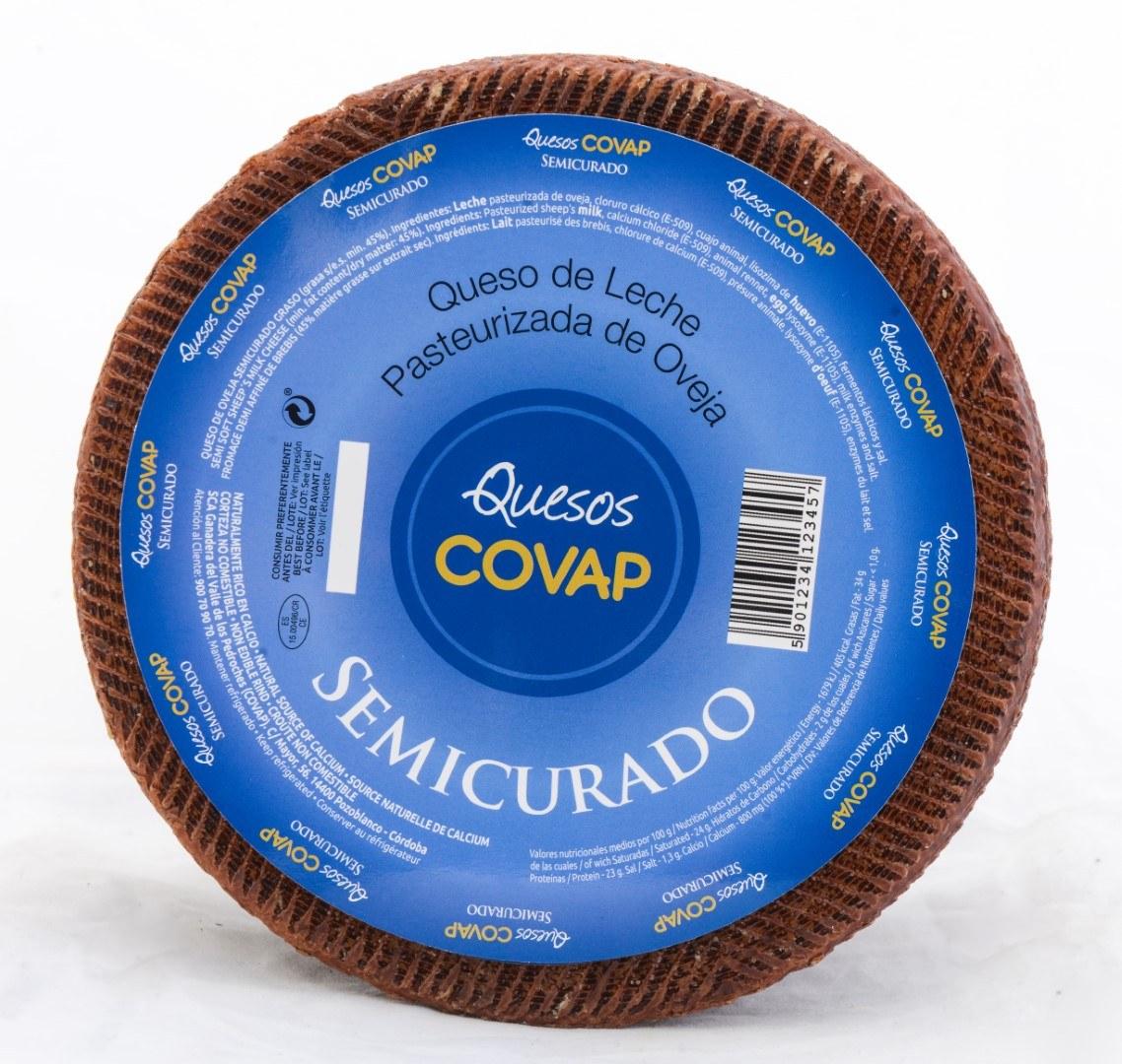 Queso Pasteurizado De Oveja Semicurado. Pieza De 2,8 Kg. Aprox