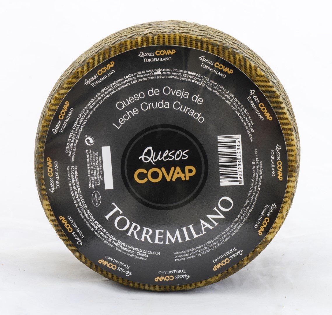 Queso De Leche Cruda Oveja Torremilano Viejo. Pieza De 2,8 Kg. Aprox.